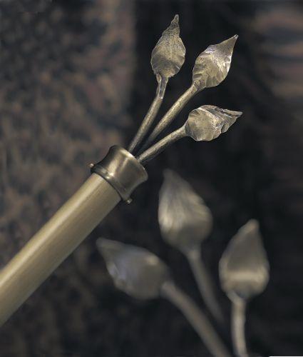 "Wrought Iron 1"" Diameter - Double Rod"