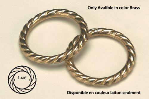 Cable Ring Brass